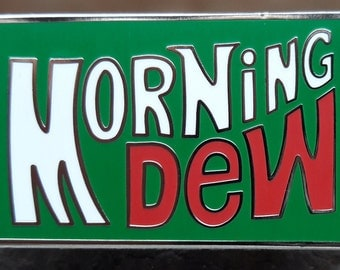 Morning Dew Pin Mountain Dew Pin Grateful Dead Pin Grateful Dead Hat Pin FREE SHIPPING!!!
