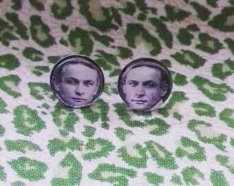 Harry Houdini earrings