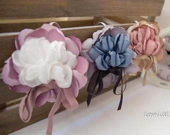Flower headband, Flower hairband