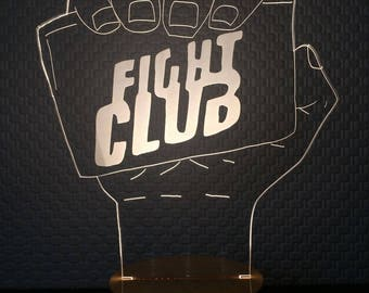 3D Fight Club Lamp
