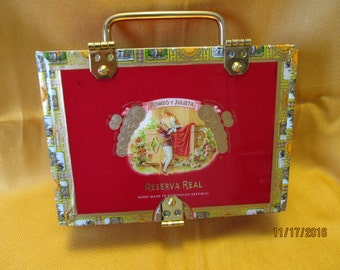 Romeo and Julieta Cigar Box Purse SPECIAL EDITION