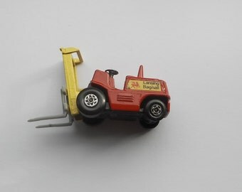 Vintage 1972 Matchbox Superfast Series No. 15 Fork Lift Truck,  Lesney, Made in England