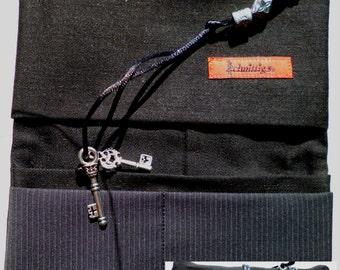 Tobacco pouch, pouch, black