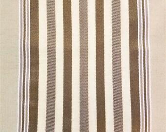 SILK TAFFETA - Striped - 6 YDS