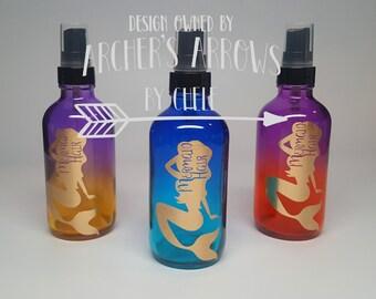 4oz Ombre Mermaid Hair Bottle
