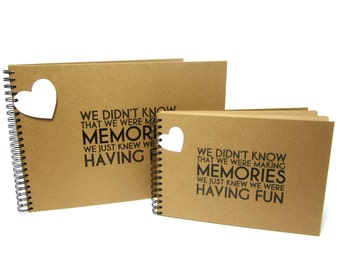 A4/A3/Square Memory Photo Album Scrapbook, Making Memories Having Fun, Large XL