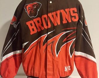Vintage Cleveland Browns Jacket L