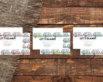 LETS GLAMP | Glamp Birthday Invitation | Let's Glamp Invitation | Glamp Invite | Glamp Birthday | Glamp | Glamp Out | Glamp Theme | Glamping