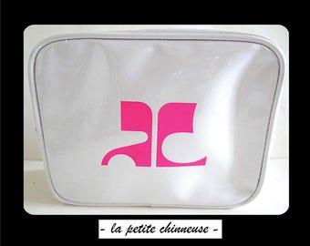 COURREGES pouch. Makeup Bag Courrèges. Accessory Courrèges.