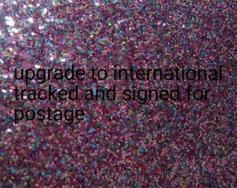 International tracked and signed for postage upgrade