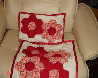 Dollies hand made quilt set.