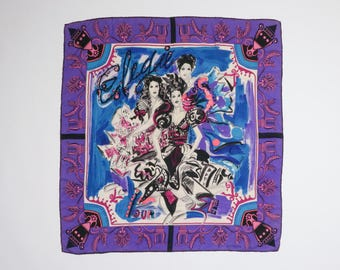 GIANNI VERSACE - Silk scarf
