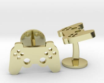 Playstation Controller Cufflinks |  Wedding Geek & Gaming Cuff links | Available as Sets