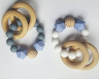 Teething Toy/Silicone Bead Teething Toy/Silicone teether
