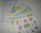 Easter Full Week Planner Sticker Kit