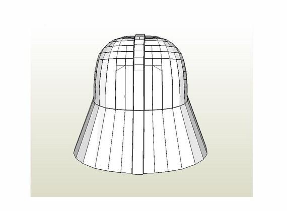 Darth Vader Helmet Star Wars 1:1 Full Scale Life-size DIY