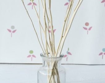12g Wooden Branch Replacement Diffuser Reed Refill Sticks Twigs 24cm Pink Natural