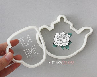 Teapot & Cup Cookie Cutters Set