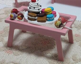 Tavolo in legno per Blythe fatto a mano