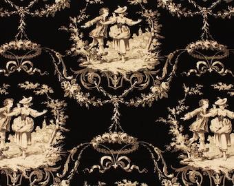 """Richloom Sweet William Romantic Elegant Twill Fabric by the Half Yard 18"""" x 56"""" 45 cm  x  145 cm"""