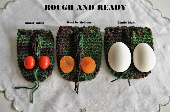 Wedding Gag Gift: Crochet Wedding Gag Gifts Scrotum Pocket Purse Change Purse