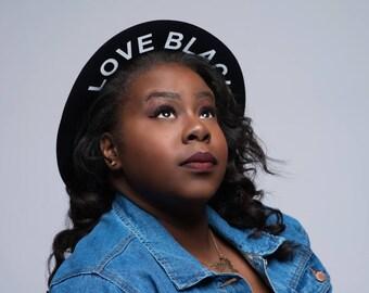 Love Black Fedora