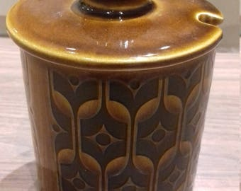Hornsea Pottery Heirloom Jam Honey Pot with Lid