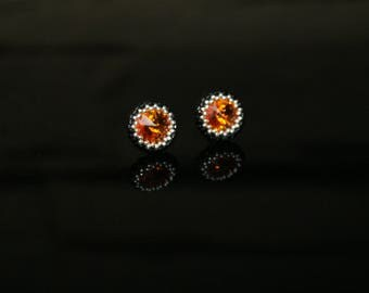 """Small earrings """"Coral Snake"""""""