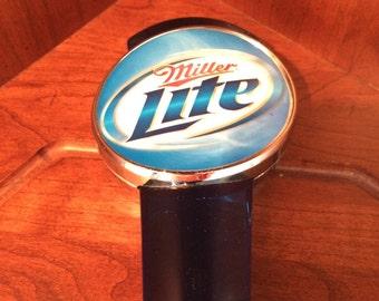 Miller Lite Blue Beer Tap