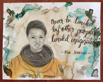 Mae Jemison African American Hero And Quote