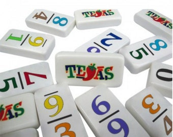 Customizable Professional Size Numeral 9 Dominoes