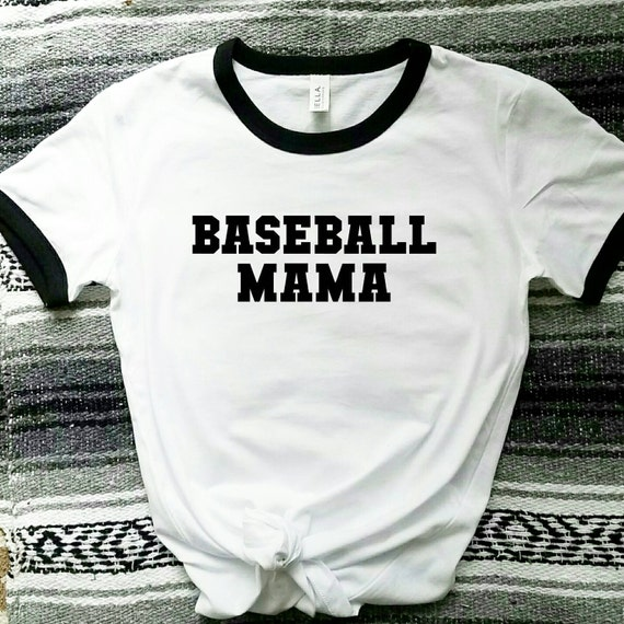 BASEBALL MAMA Tees or Tanks, Baseball Mom