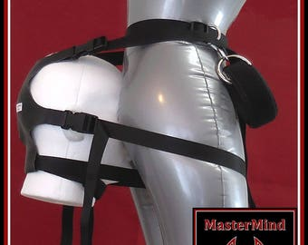 Smother Harness--face harness, head harness, facesitting, smothering, queening