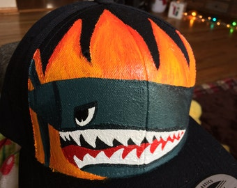 Snap Back Painted Hat