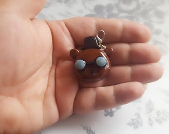 Handmade Polymer Clay Charm Angus from Night in the Woods