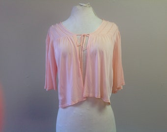 Reduced!  S Bed Jacket Small Peach