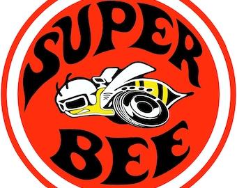 Dodge Super Bee Vinyl Decal Car Window Bumper Sticker Yeti Tumbler Truck Decal
