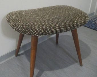 RARE! Camel footstool of the cult brand Casala, 50 s 60 s, stool, camel saddle stool, foot stool unique, unique piece, rustic decor, good condition