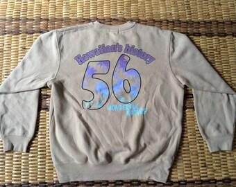 Vintage 90's Surf & Sweats Sport Classic Design Skate Sweat Shirt Sweater Varsity Jacket Size M #A597