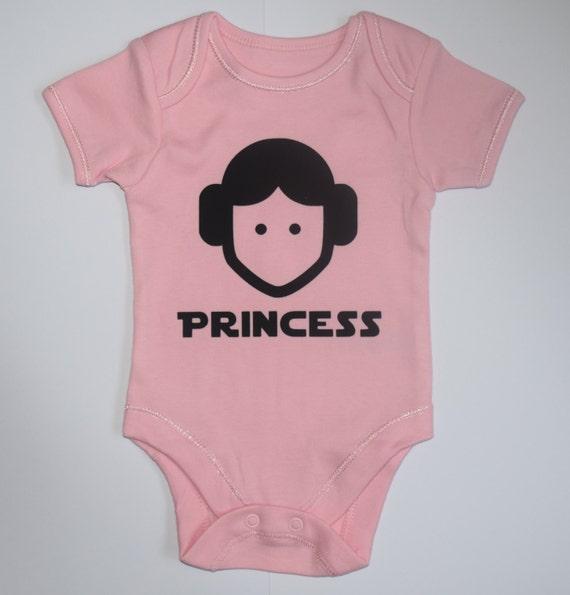Princess Leia Baby Body Suit