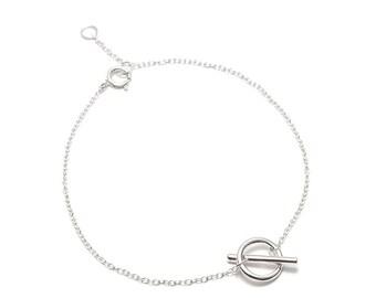 Bracelet MUTE of Silver's Bill 925