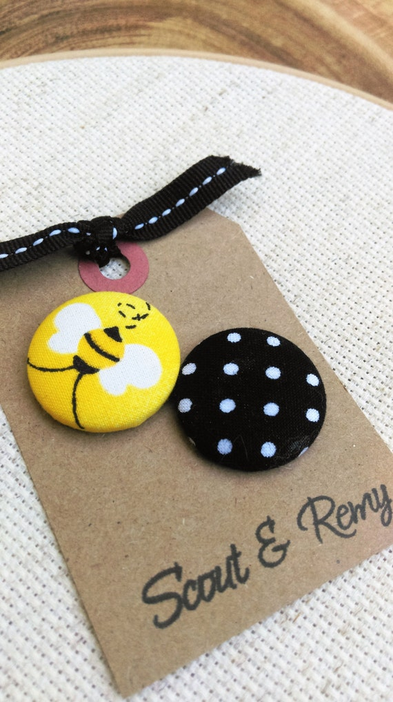 Needle Minder BEE-utiful / Polka Dot 2 in 1 Reversible