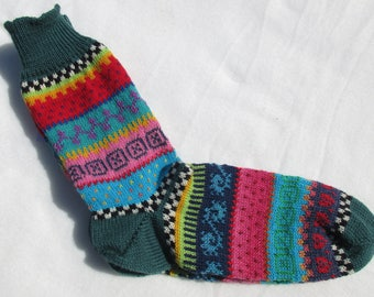 Colorful socks Finn size 42 / 43