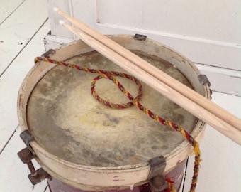 Beautiful vintage hand drum