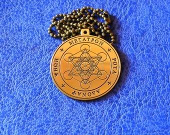 Metatron's Cube pendant, Seal of the Metatron, Archangel seal