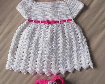 Crochet girl set