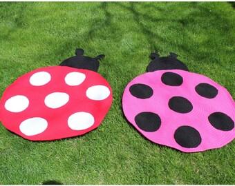 Ladybug Rug Etsy