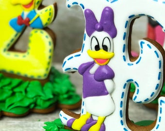 Stand Up  LETTER/ NUMBER Cookies - Select required quantity