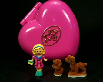 COMPLETE Polly Pocket PRECIOUS PUPPIES 1993 Playset