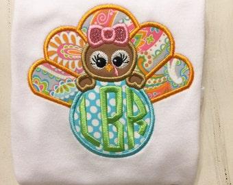 Girl Thanksgiving Shirt Onesie in Fall Colors // Baby First 1st Thanksgiving Shirt Onesie // Thanksgiving Bodysuit Body suit